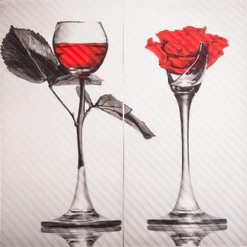 Spain Rose Panno